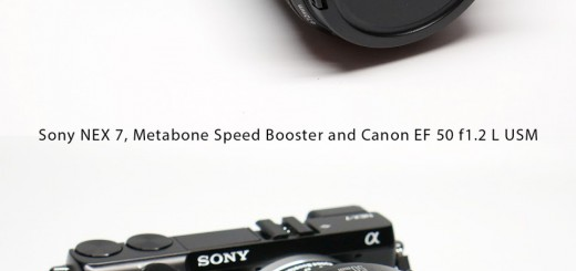 Metabones Speed Booster Review (NEX 7) Part III - Canon EF 50 f1.2 L USM