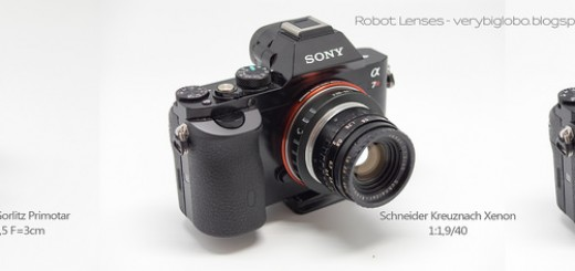 Sony Alpha A7r (ILCE-7r) and Robot Lenses