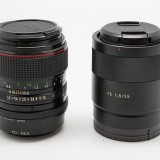 Sony FE 55mm f_1.8 Z vs Canon FD 50mm f_1.2 L