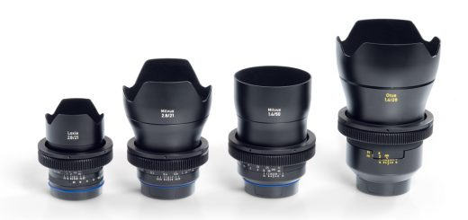 ZEISS Lens Gears are available in four different sizes for all ZEISS Otus, ZEISS Milvus and ZEISS Loxia lenses