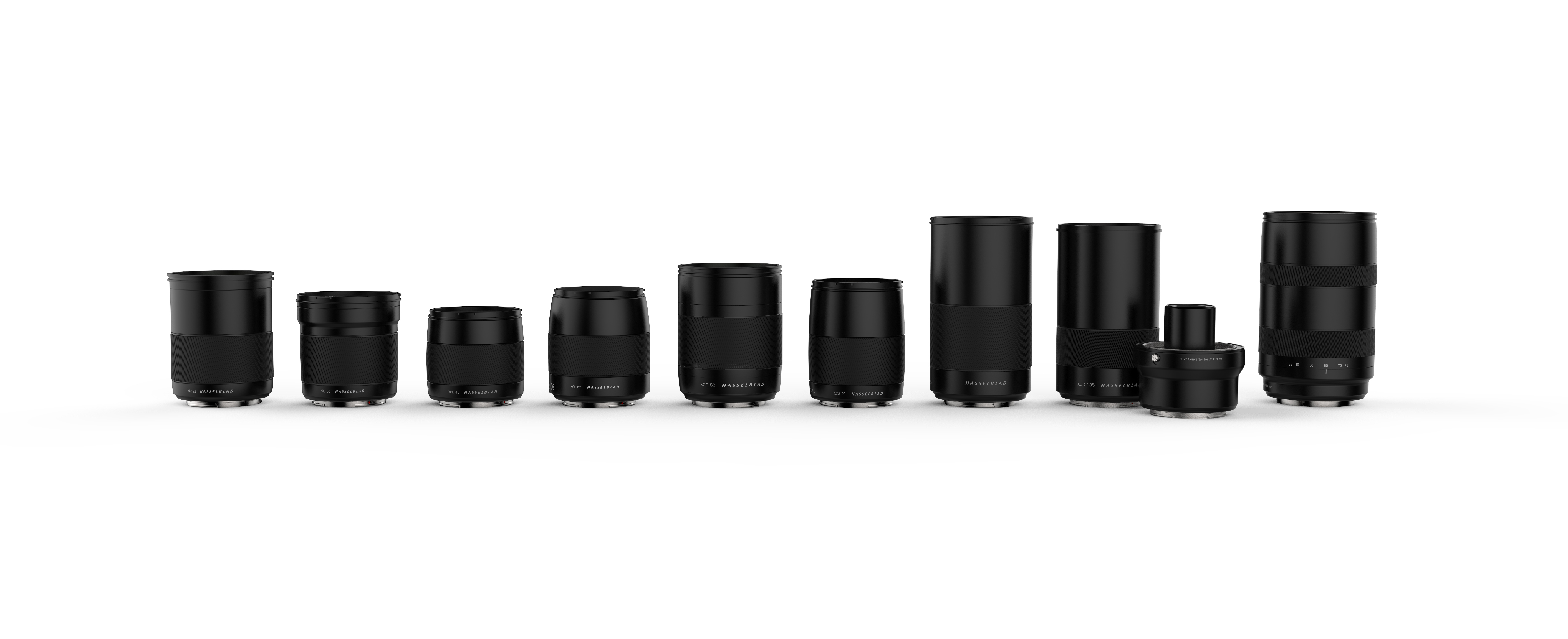 Hasselblad expands the XCD lens range to a total of nine